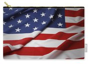 Usa Flag Carry-all Pouch by Les Cunliffe