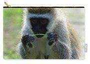 Vervet Monkey Carry-all Pouch