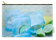 Water In Blue Carry-all Pouch