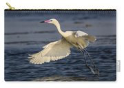 White Morph Redish Egret Carry-all Pouch