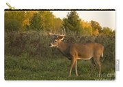 White-tailed Buck In Fall Carry-all Pouch