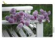 Wild Onion Flowers Carry-all Pouch