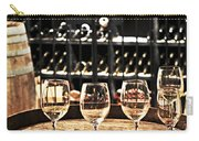 Wine Glasses And Barrels Carry-all Pouch