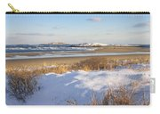 Winter At Popham Beach State Park Maine Carry-all Pouch