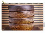 Wooden Bowls Carry-all Pouch
