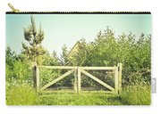 Wooden Gate Carry-all Pouch