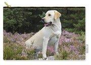 Yellow Labrador Retriever Carry-all Pouch