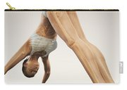 Yoga Downward Facing Dog Pose Carry-all Pouch