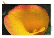 Zantedeschia Named Flame Carry-all Pouch