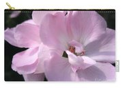 Zonal Geranium Named Tango Light Orchid Carry-all Pouch