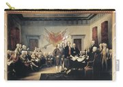 Declaration Of Independence Carry-all Pouch by Granger