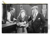 Silent Film Still: Drinking Carry-all Pouch by Granger