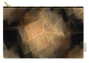 Seamless Background Fractal Carry-all Pouch