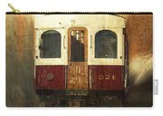 321 Antique Passenger Train Car Textured Carry-all Pouch
