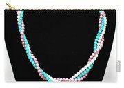 3584 Three Strand Twisted Shell Necklace Carry-all Pouch