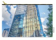 Skyline And City Streets Of Charlotte North Carolina Usa Carry-all Pouch
