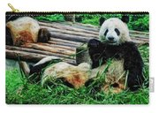 3722-panda -  Acanthus Sl Carry-all Pouch