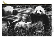 3722-panda -  Advanced Pencil Sketch Carry-all Pouch