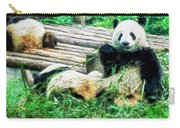3722-panda -  Oil Stain Sl Carry-all Pouch
