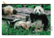 3722-panda -  Pastel Chalk 1 Carry-all Pouch