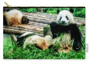 3722-panda -  Watercolor 1 Carry-all Pouch
