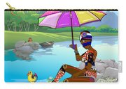 Girl By The Lake Carry-all Pouch