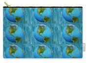 3d Render Of Planet Earth 1 Carry-all Pouch