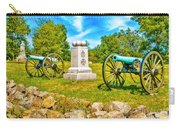 3rd Massachusetts Battery Gettysburg National Military Park Carry-all Pouch