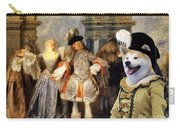 Akita Inu Art Canvas Print Carry-all Pouch