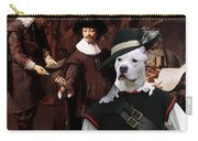 American Staffordshire Terrier Art Canvas Print Carry-all Pouch