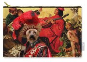 Silky Terrier Art Canvas Print Carry-all Pouch