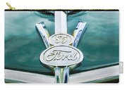 1937 Ford Pickup Truck V8 Emblem Carry-all Pouch