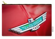 1956 Ford Thunderbird Emblem Carry-all Pouch