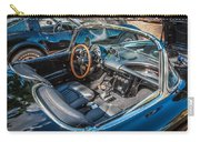 1959 Chevy Corvette Convertible Painted  Carry-all Pouch