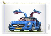 2010 Mercedes Benz S L S Gull-wing Carry-all Pouch