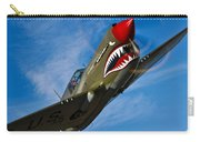 A Curtiss P-40e Warhawk In Flight Carry-all Pouch