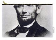Abraham Lincoln Carry-all Pouch by Anonymous