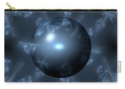 Abstract Blue Globe Carry-all Pouch