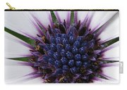 African Daisy Named Soprano White Carry-all Pouch