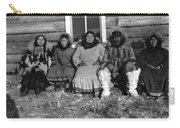 Alaska Eskimo Family Carry-all Pouch