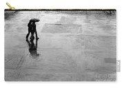 Alone In The Rain Carry-all Pouch