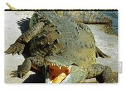 American Crocodile Carry-all Pouch