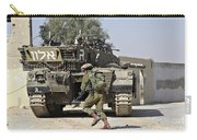 An Israel Defense Force Merkava Mark II Carry-all Pouch