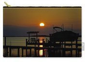 An Outer Banks North Carolina Sunset Carry-all Pouch