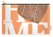 Austin Street Map Home Heart - Austin Texas Road Map In A Heart Carry-all Pouch
