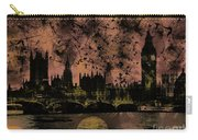 Big Ben On The River Thames Carry-all Pouch