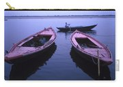 Boats On The Ganges River Carry-all Pouch