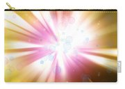 Bright Background Carry-all Pouch by Les Cunliffe