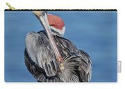 Brown Pelican Preening Carry-all Pouch