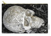 Celtic Skulls Symbolic Pathway To The Other World Carry-all Pouch